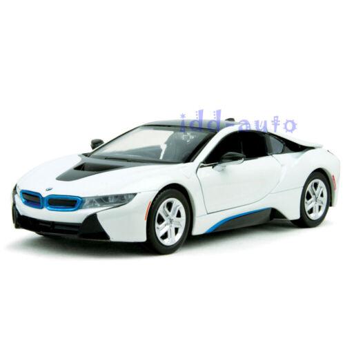 MOTORMAX 2018 BMW i8 COUPE METALLIC WHITE 1//24 DIECAST MODEL CAR 79359