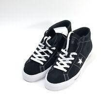 ba8fa65e6892 Converse One Star Pro Mid Suede Skate Shoes Black White Men SZ 11 ( 153472C  )