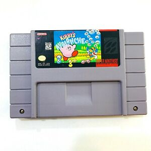 Kirby-039-s-Avalanche-Super-Nintendo-SNES-Game-Tested-Working-Authentic
