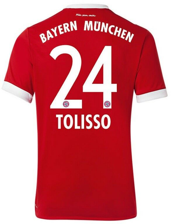 Trikot FC Bayern 2017-2018 Home UCL UCL Home - Tolisso 24  Champions League 596f60