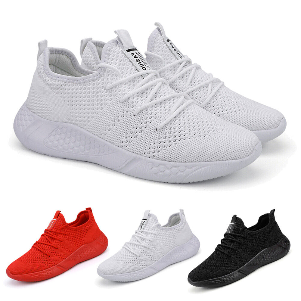 Men's Running Trainers Casual Tennis Shoes Fitness Gym Outdoor Sports Sneakers