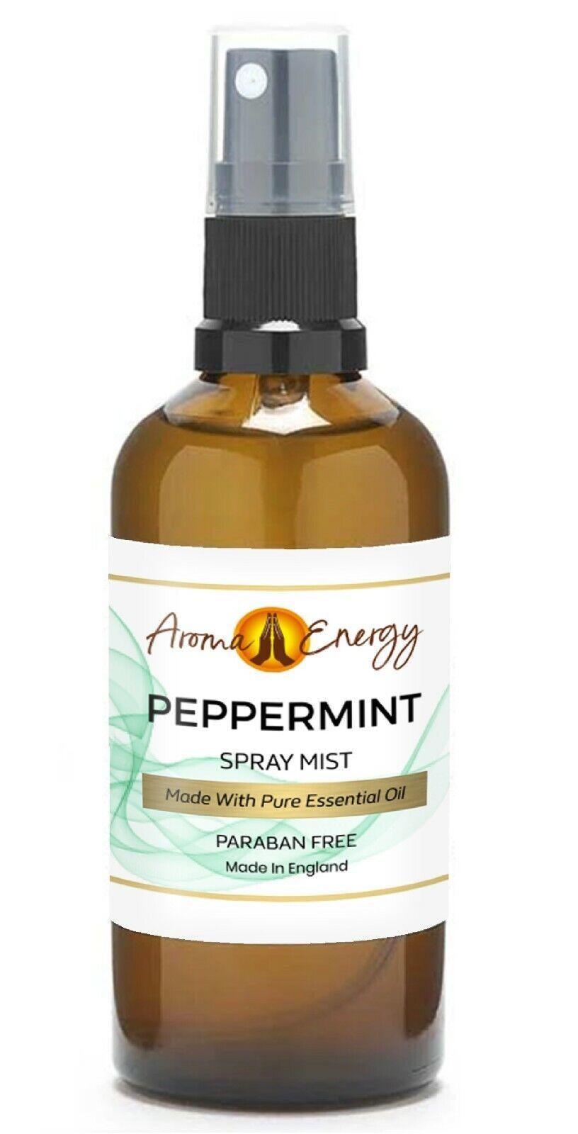 Peppermint Essential Oil Room Spray Fragrance Spritz Mist Freshener Ebay