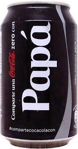 1-COCA-COLA-ZERO-PAPA-DOSE-LEER-AUS-SPANIEN-2013-KLEINE-DOSE