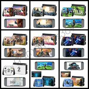 Zelda Game For Nintendo Switch Skin Sticker Console Controllers