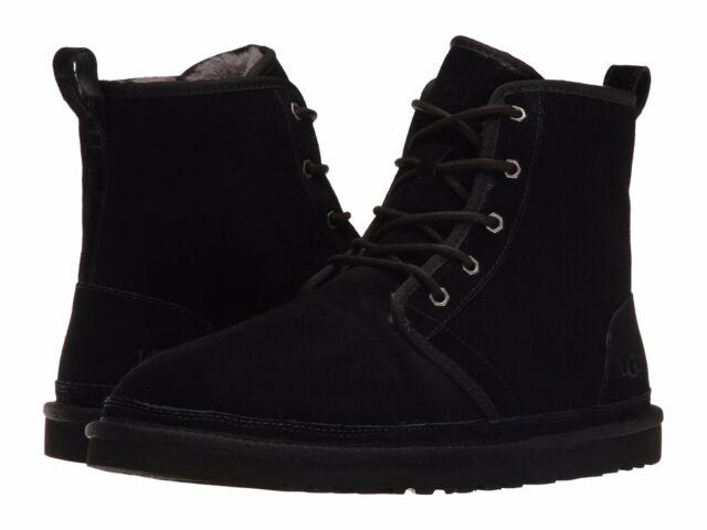 bf4d2d1f58f UGG Australia Harkley Men's Black BOOTS 1016472 Size 10 NWB