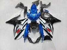 Black Blue Injection Fairing Bodywork For Suzuki GSXR1000  GSX-R 2009-2014 2010