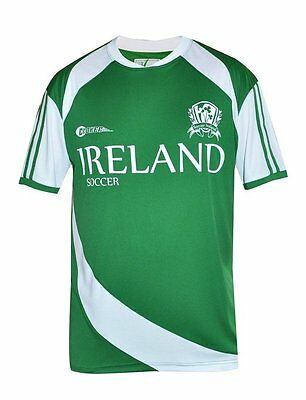 Ir2005 Glorious Irish Soccer Jersey By Croker Performance Jersey