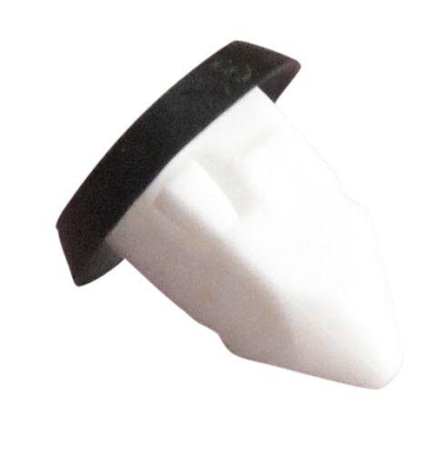 10 x tornillo de ajuste BMW Cuerpo Plástico Ojal Tuerca Con Arandela de sello de goma