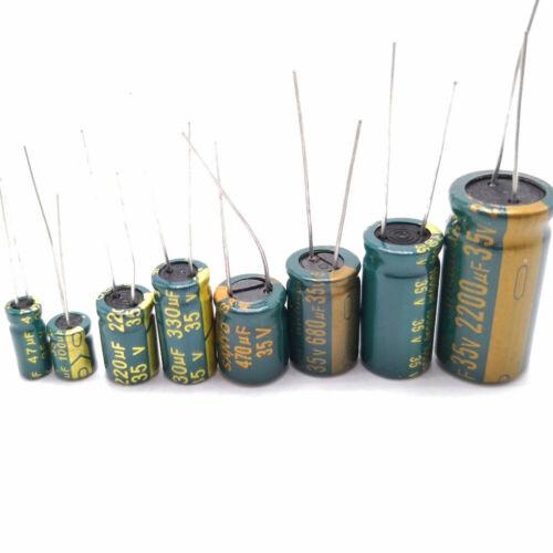 80V Low ESR high frequency aluminum capacitor 220//330//1000//2200 UF