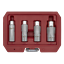 AK65561-Sealey-Magnetico-Bujia-Socket-Conjunto-de-herramientas-de-enchufe-de-unidad-4pc-3-8-034-Sq miniatura 6