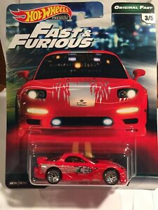 Details about Hot Wheels Fast and Furious Mazda RX7 95