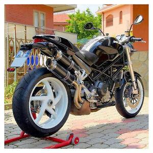 Scarichi Terminali Ducati Monster S2r S4r S4r Rs Nuovi Carbonio