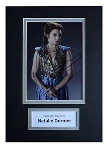 Autographs-original Entertainment Memorabilia Natalie Dormer Signed Photo W/ Hologram Coa