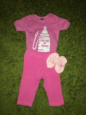Calzas Babygrow y zapatos hasta 3 mes muy buen estado Reborn Bebé Ropa?