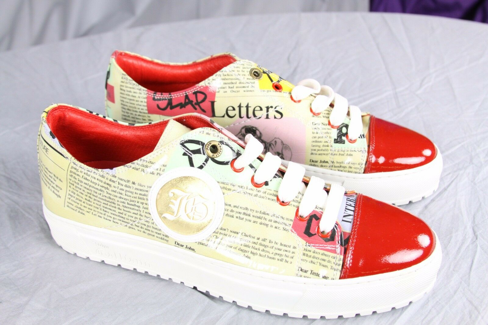 Authentic John Galliano fashion sneakers US 9 IT 43 Made in
