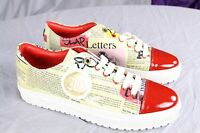 Authentic John Galliano Fashion Sneakers Us 9 It 43 Made In Italy