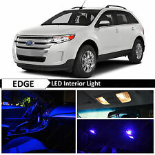 13x Blue Interior LED Lights Package Kit for 2007-2014 Ford Edge