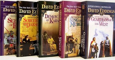 Malloreon Series Collection Set Books 1-5 by David Eddings Brand New!