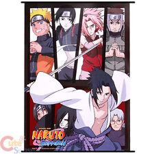 Naruto Garra Kneel Down Wall Scroll GE9929 Japan Anime Silk Fabric Poster