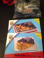 Decopac Disney Toy Story 3 Woody & Buzz Birthday Cake Topper Decorating Kit