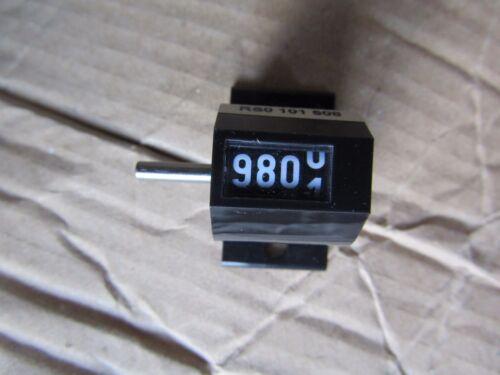 HENGSTLER 4 chiffres mécanique compteur 0 101 508 Révolution haut Going-R1 165756