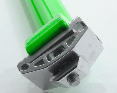 SEAT POST PROMAX 31.6 mm w// CLAMP 400mm FLUORESCENT//NEON GREEN 31.6mm