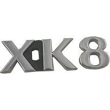 """NEW Jaguar XK8  Badge Trunk Emblem 1997 - 2003 """"XK8""""  HJB5980BB"""