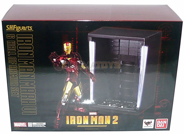 S.H.Figuarts Iron Man 2 Iron Man Mk-VI Action Figure Bandai US Seller