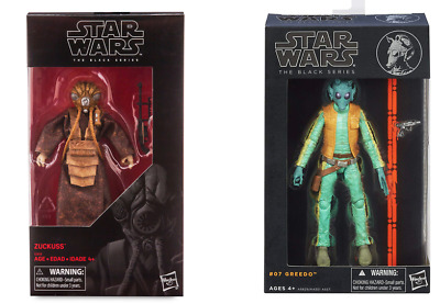"Star Wars Black Series 6/"" Zuckuss Bounty Hunter ESB Exclusive New Sealed Mint"