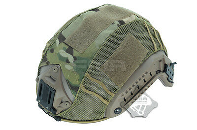 6 Color Airsoft Military Paintball Tactical Combat Helmet Cover for Fast Helmet