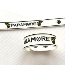 1 x PARAMORE RUBBER WRISTBAND BRACELET ROCK MUSIC Memorabilia Gift Collectible