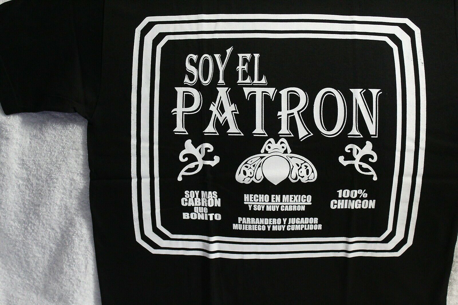 CHINGON EXTRA BONITO MEXICO MEXICAN ROOTS FUNNY LATINO CORONA T-SHIRT SHIRT