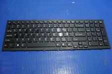 OEM Sony Vaio VPCEH White Keyboard With Frame 9Z.N5CSQ.301 1-489-713-11 NEW US