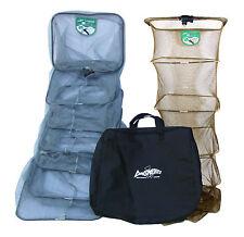 DINSMORES DUO consorzio Carpa XT 2 pesca keepnets Pack 8FT con Cerniera BAG