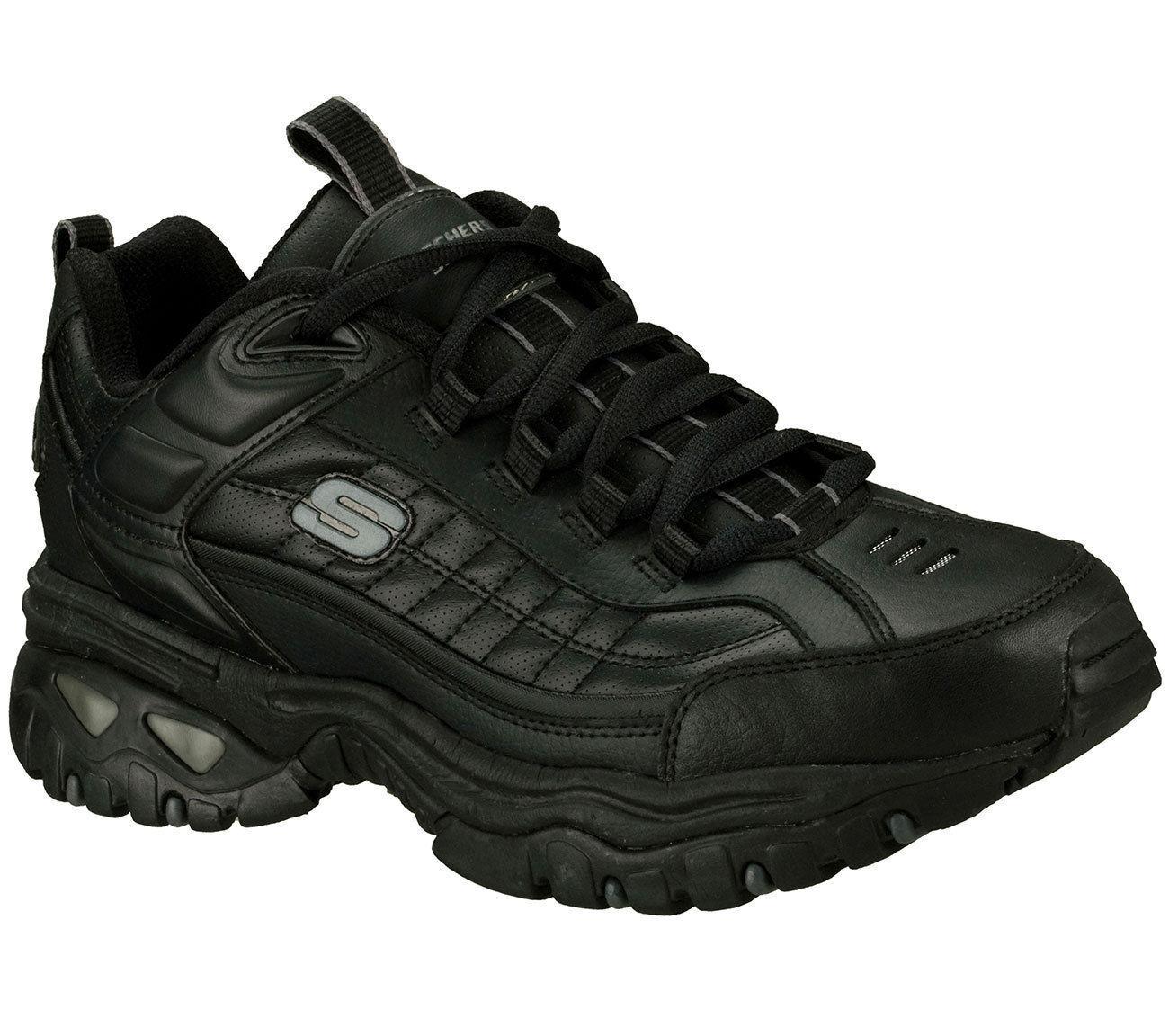 skechers black dress shoes