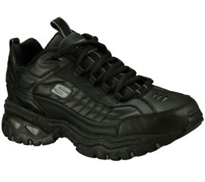 Ew Cola Zapatos 50081 Negro Nuevo Hombre Corte Skechers Ancho Deporte URqRdZzx