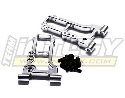 Integy T8685SILVER Alloy Rear Lower Suspension Arm for HPI Ken Block /& WR8 3.0