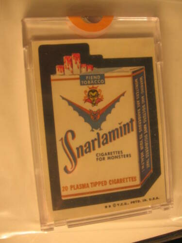 1973 Topps Series 6 Wacky Packages Proof Snarlamint