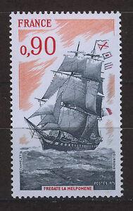 FRANCIA-FRANCE-1975-MNH-SC-1459-Frigate-Melpomene