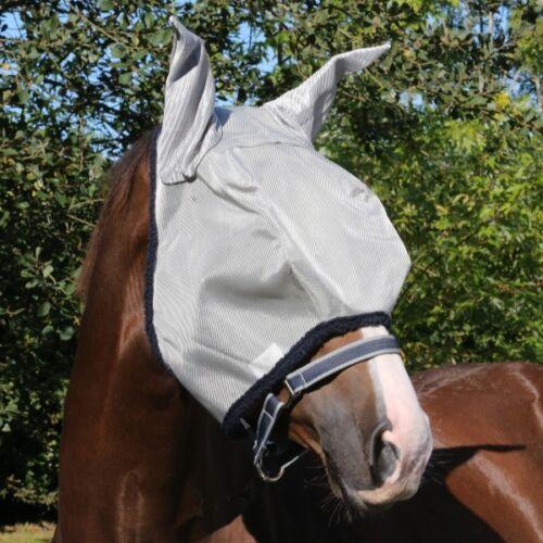 Horseware Fliegenmaske Amigo Fly Mask silver//navy