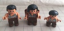 LEGO DUPLO - DINO VALLEY 5598 - Caveman Famaly Woman Girl Child Backpack
