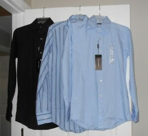 Dolce-amp-Gabbana-mens-dress-shirts-3-colors-asst-sizes-NWT