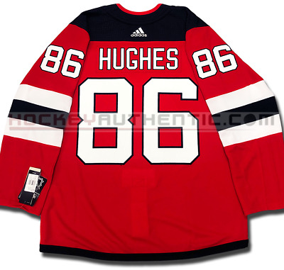 Jack Hughes New Jersey Devils 1st NHL Goal Action Photo Framed Size: 12.5 x 15.5
