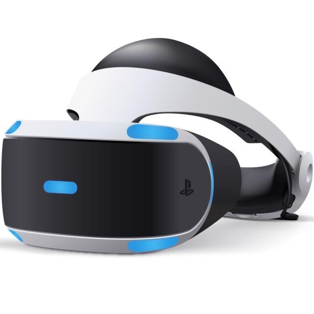 SONY PLAYSTATION VR HEADSET - NEW BOX DAMAGE