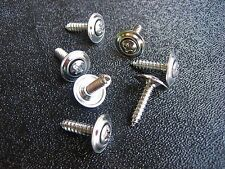 "#8 x 3/4"" Chrome Fender Moulding Screws Trim Panel Wheel Wells"