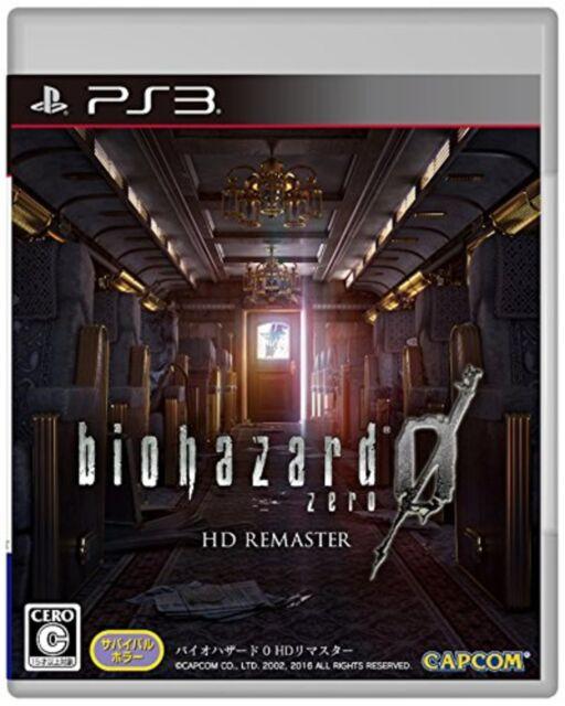 PS3 Biohazard0 HD Remasterd Resident Evil Multi-Idioma Nuevo Japón F/S con /