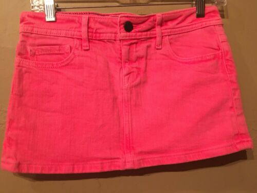 Lip Servicec alternative gothic Stretch F**k/'n Jeans Fluorescent Pink Mini Skirt