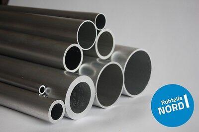 45cm auf Zuschnitt L/änge 450mm Aluminium Rundrohr AlMgSi05 /Ø 32x1,5mm