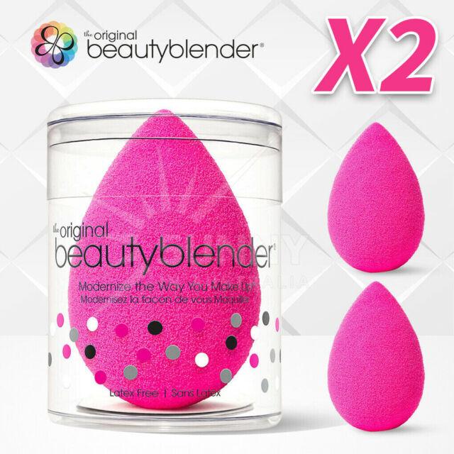 2x The Original BeautyBlender Makeup Applicator Beauty Blender Sponge AU Stock