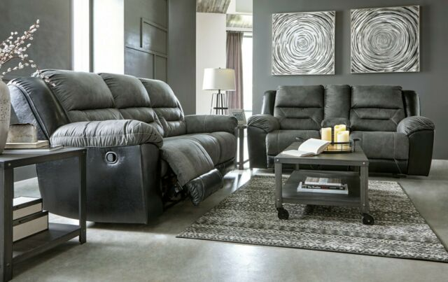Incredible Ashley Furniture Earhart Reclining Sofa And Loveseat Living Room Set Beutiful Home Inspiration Cosmmahrainfo